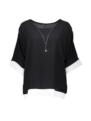 Блуза черная   4652734