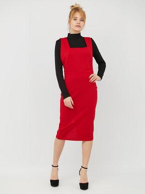Спідниця-сарафан червона | 4628057