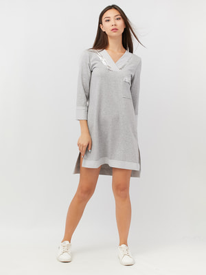 Платье серое | 4628067