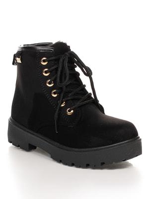 Ботинки черные | 4664547
