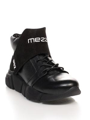 Кросівки чорні з принтом | 4664559