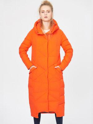 Пуховик оранжевый | 4670561