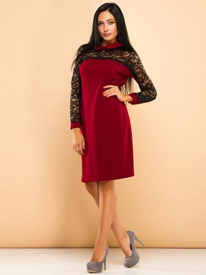 Сукня бордова | 4669706