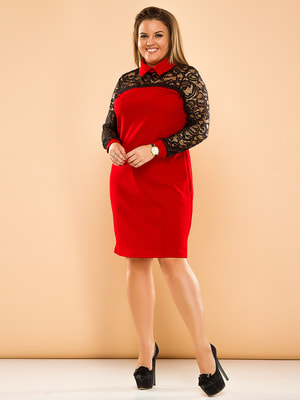 Сукня двоколірна | 4669819