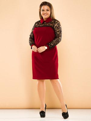 Платье двухцветное | 4669822