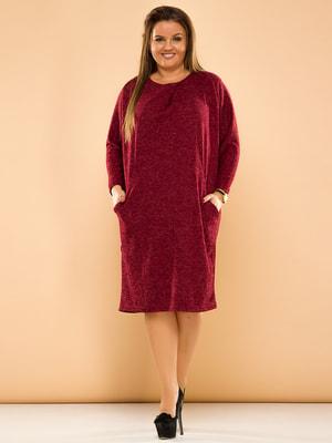 Сукня бордова | 4669845