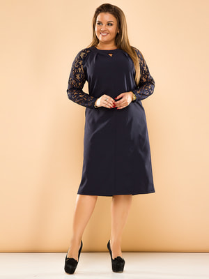 Сукня темно-синя | 4669847