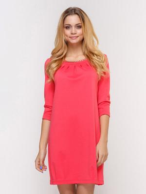 Платье коралловое | 4658444