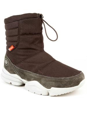 Ботинки коричневые | 4672635