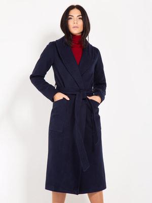 Пальто синее | 4670786