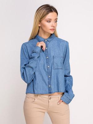 Рубашка голубая | 4627198