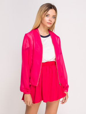 Бомбер яскраво-рожевий | 4626942