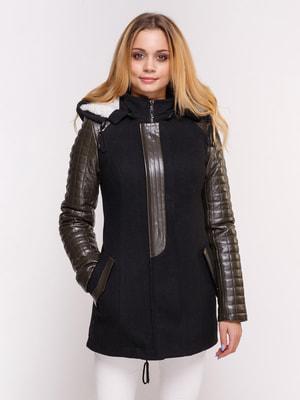 Куртка чорна | 4658424