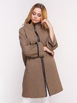 Пальто коричневое | 4658393