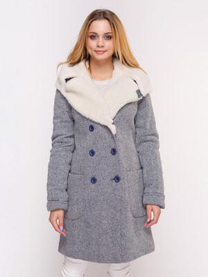 Пальто голубое | 4658395