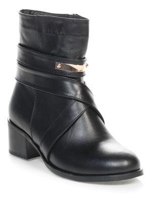 Ботинки черные | 4660656