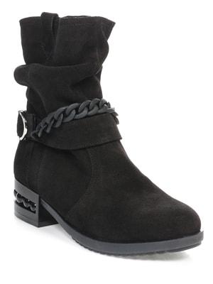 Ботинки черные   4660650