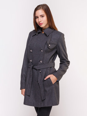 Пальто сіре | 4658399