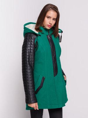 Куртка зелена | 4658425