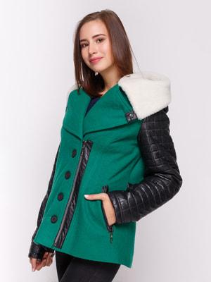 Куртка зелена | 4658421
