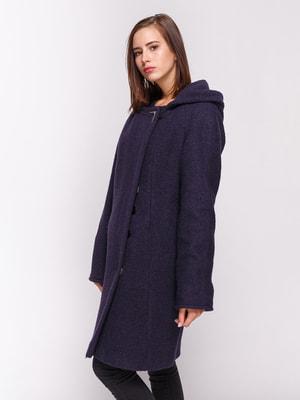 Пальто цвета баклажана | 4658394