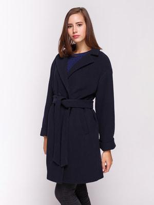 Пальто темно-синее | 4658402