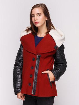 Куртка бордова | 4658420
