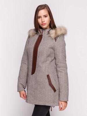Пальто светло-коричневое | 4658417