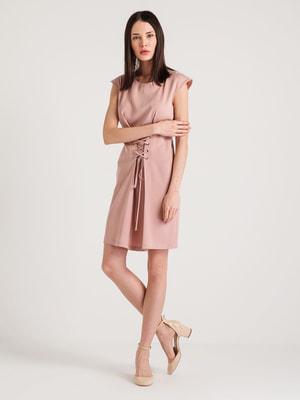 Платье розовое | 4265358