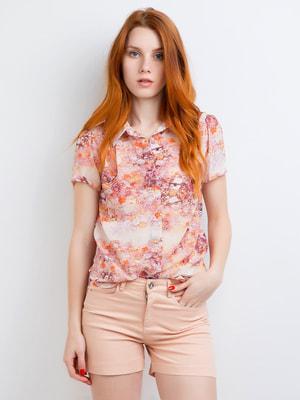 Рубашка в принт | 4653387