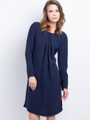 Сукня темно-синя | 4653442