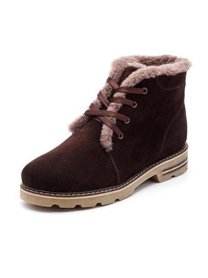 Ботинки коричневые   4675878