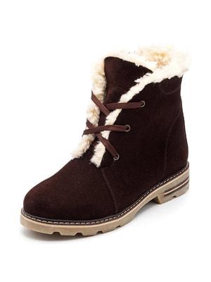 Ботинки коричневые   4675883