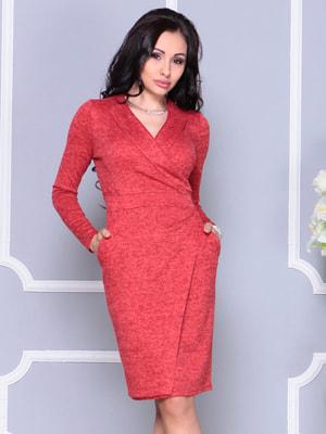Платье красное | 4655215