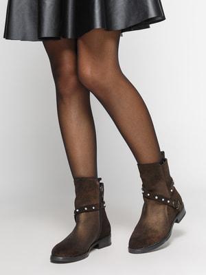 Ботинки коричневые   4669981