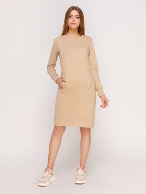 Платье бежевое | 4659647