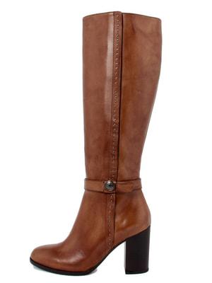 Сапоги коричневые - PAOLA FERRI - 4676395