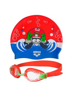 Комплект: очки и шапочка для плавания | 4651009