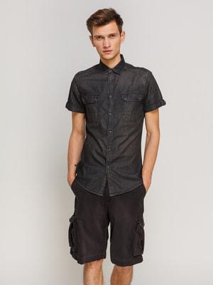 Рубашка черная | 4670689