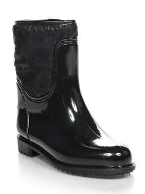 Сапоги черные | 3091336