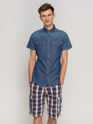 Рубашка синяя | 4670721