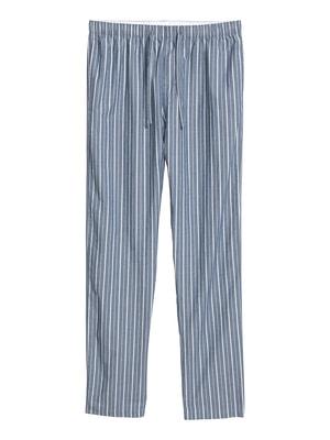 Брюки в полоску пижамные | 4594213