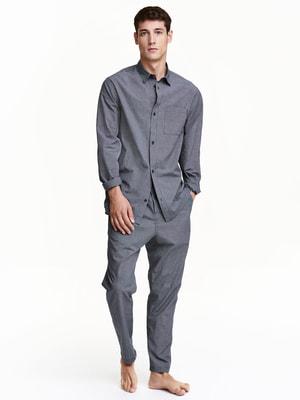 Пижама: рубашка и брюки | 4594235