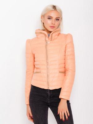 Куртка персикового цвета | 4678545
