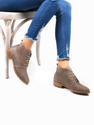 Ботинки коричневые | 4678277