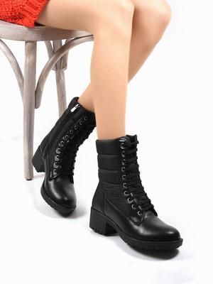 Ботинки черные | 4678376