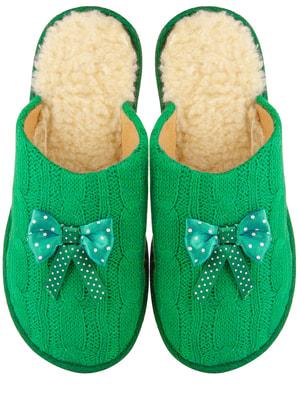 Тапочки зелені | 4679492