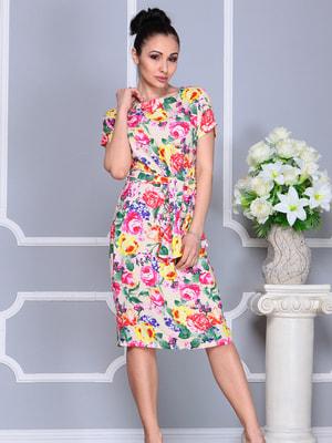Платье в принт | 4619468