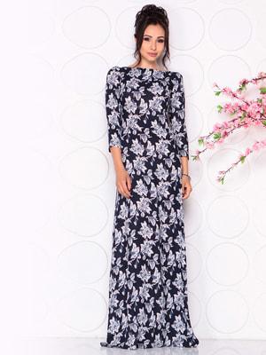Платье в цветочный принт | 4619480
