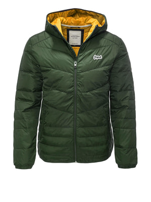 Куртка зеленая | 4680560